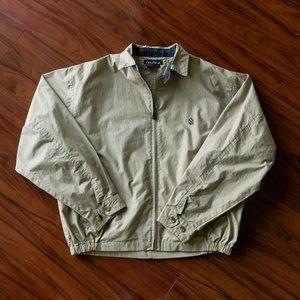 Vintage Nautica Khaki Zip Up Jacket